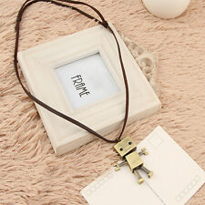 Jewelry Wholesale European And American Retro Robot Sweater Chain Necklace