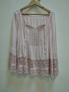 TUNIQUE ROSE MADE IN ITALY 46