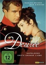 Desiree Marlon Brando, Jean Simmons, Henry Koster NEW DVD
