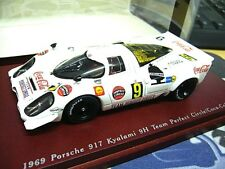 PORSCHE 917 K Kyalami 1969 #9 Team Perfect Circle Coca Cola Truescale TSM 1:43