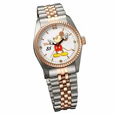 Disney Mickey Mouse Watch World Limited 85th Anniversary Pink Gold Japan F/S New