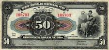 02 Peru P68a 50 Soles 1944