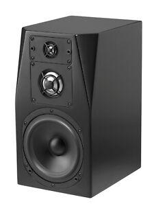 NHT C Series C-3 Premium Sealed Box 3-Way Bookshelf Speaker, Single, Gloss Black