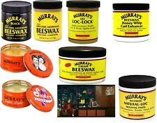 Murray's BeesWax and Hair Dress Products for Curls, Locs, Dreads, Pompadours etc