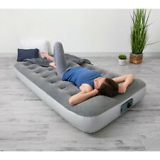 """Air Mattress With Built - In AC Pumb Airbeds 12"""" Sleeping Camping"""