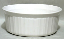 Corning Ware French White 1.6 Liter ~1 1/2 Quart Round Casserole, F5B