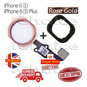 NEW iPhone 6S & 6S Plus  Home Button Flex Cable Replacement Rose Gold