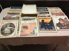 Lot Of 36 Vintage Etude Music Magazine Antique Sheet Music 1920's