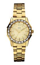 GUESS Uhr Girly B W0018L2 Damen Armbanduhr Edelstahl IP gold