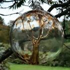 "Внешний вид - Hanging Glass Ball 6"" Diameter Caramel Tree Witch Ball (1) 619HB2"