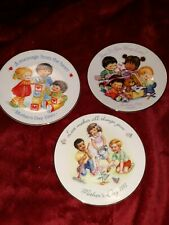 """3 Avon collector plates 5"""" Mothers Day, 1990,91,92"""