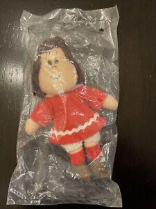 Little Lulu Hallmark Plush Stuffed Doll Sealed In Original Plastic