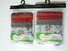 Ren and Stimpy Nickelodeon 4 Pack Boxer Briefs Size Small (28-30) Brand NEW!
