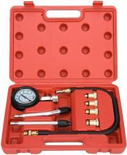Professional Petrol Gas Engine Cylinder Compression Tester Gauge Kit Auto Tool