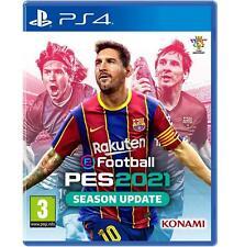 EFOOTBALL PES 2021 21 PS4 NUOVO SIGILLATO ITALIANO DVD CD PREVENDITA 15SETTEMBRE