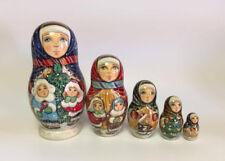 Russian Matryoshka Russian Wooden Nesting Dolls - 5 pieces #14