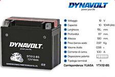 DTX12-BS BATTERIA DYNAVOLT PER MOTO TRIUMPH SPEED TRIPLE 1050 DEL 2012