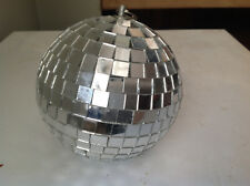 "DISCO BALL 4.75"" DIAMETER MIRROR PARTY DECORATION CHRISTMAS TREE ORNAMENT"
