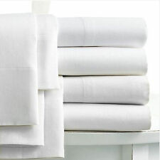 Unbranded Egyptian Cotton Solid Pattern Fitted Sheets