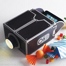 Mobile Phone Projector DIY Cardboard Smartphone Projector For Iphone Samsung HTC