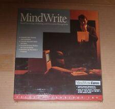 MindWriteby or Macintosh 512e, Macintosh Plus, Mac SE and Mac II - NEW
