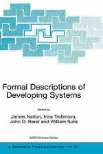 NEW Formal Descriptions of Developing Systems (Nato Science Series II:)