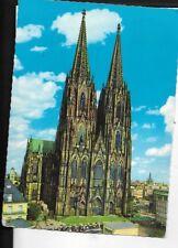germany postcard, koln am Rhein,dom cathedral circa 1960s 70s