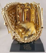 Andruw Jones  Autographed Signed Mini Gold Glove Atlanta Braves JSA