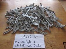 Fischertechnik 180x verschiedene Statik Streben Träger Sammlung Konvolut Statik