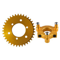 Disc Brake Rotor Adapter and 28T sprocket Gas Motorized Bicycle 48cc//66cc//80cc