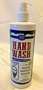 Smooth Groom Society Hand Wash American Man Edition USA Made Paraben 16 oz NEW