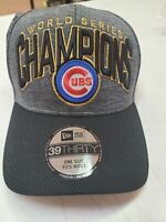 Chicago Cubs 2016 World Series New Era MLB Authentic On Field Fitted Hat  NWT
