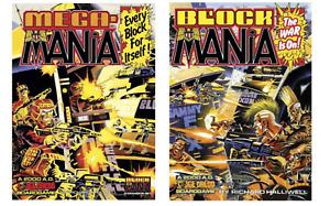 Block Mania and Mega Mania expansion Game 2000ad Judge Dredd Games Workshop