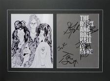 AEROSMITH X5 SIGNED MATTED PHOTO AUTHENTIC AUTOGRAPH TYLER PERRY ROCK & ROLL HOF