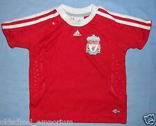 LIVERPOOL FC / 2008-2010 Home - ADIDAS - KIDS Shirt / Jersey. Size: 9-12m, 80cm