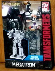 Metal Earth Transformers Megatron 3D Puzzle Micro Model