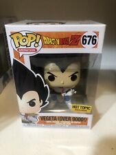 Funko Pop! Dragonball Z Vegeta Over 9000 HOT TOPIC Exclusive #676