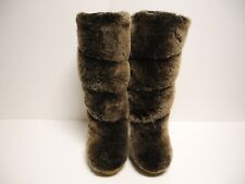 2789b1775a539 Tory Burch real fur boots size 5