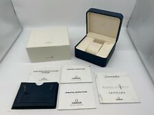 OMEGA rare America's cup Watch Box genuine Empty navy authentic  0623004PA92