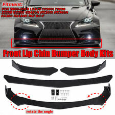 For Lexus IS250 IS350 ISF GS300 GS350 NX200T Front Bumper Lip Body Kit Spoiler