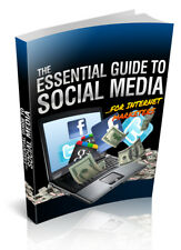 The Essential Guide To Social Media Pdf eBook W/Master Resell Rights
