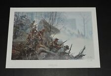 Mort Kunstler - Battle Above The Clouds - Civil War Print
