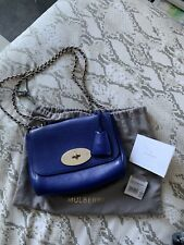 mulberry small lily bag Blue