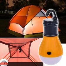 Outdoor Hanging LED Camping Tent Light Bulb Fishing Lantern Lamp Portable green
