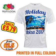 Personalised T-shirt Custom Photo Your Image Printed Stag Hen T-shirt Party