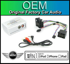 BMW MINI COOPER CONNETTORE INGRESSO AUX autoradio ipod iphone mp3 lettore