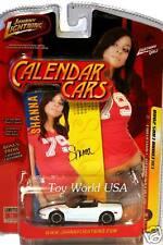 2008 Johnny Lightning Calender Cars  #12 '02 Chevy Corvette Convertible