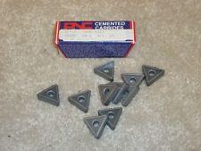10 New ANC TNMG 434 AN 6 Carbide Inserts