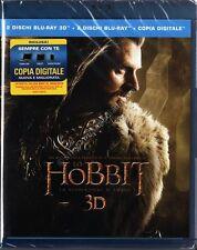 LO HOBBIT PARTE 2 : LA DESOLAZIONE DI SMAUG 3D EDIZ. SPECIALE 4 BLU RAY DISC