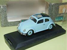 VW COCCINELLE Avec Toit Ouvrant 1949 Bleu VITESSE 405